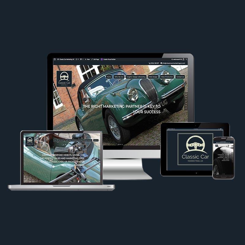 Classic Car Marketing Uk Classic Car Web Design